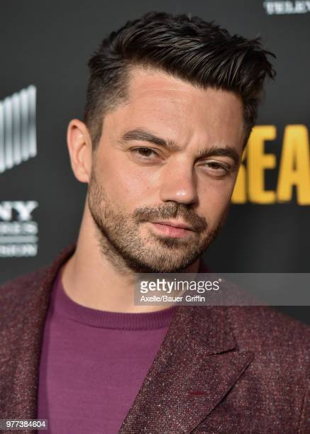 Actor Dominic Cooper arrives at AMC's 'Preacher' Season 3 Premiere Party at The Hearth and Hound on June 14 2018 in Los Angeles California