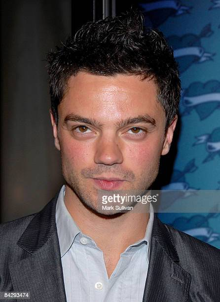 Actor Dominic Cooper arrives at the 3rd season Los Angeles premiere of Big Love at The Cinerama Dome on January 14 2009 in Hollywood California