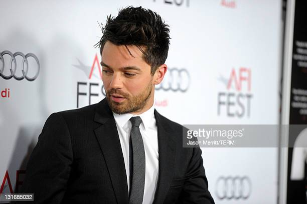 Actor Dominic Cooper arrives at the My Week With Marilyn special screening during AFI FEST 2011 presented by Audi at Grauman's Chinese Theatre on...