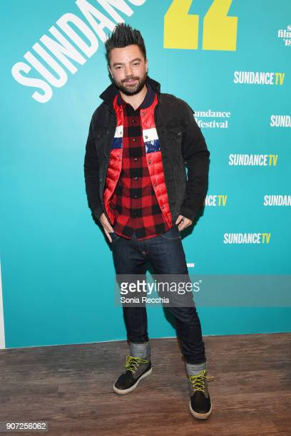 Actor Dominic Cooper attends the 2018 Sundance Film Festival Official Kickoff Party Hosted By SundanceTV during the 2018 Sundance Film Festival at...