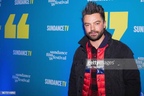 Actor Dominic Cooper attends the 2018 Sundance Film Festival Official Kickoff Party hosted by Sundance TV at Sundance TV HQ on January 19 2018 in...