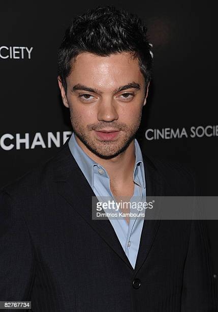 Actor Dominic Cooper attends the Cinema Society with Chanel and Vogue's screening of The Duchess at the Public Theater on September 10 2008 in New...