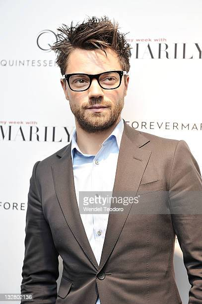 Actor Dominic Cooper attends the My Week With Marilyn New York premiere at The Paris Theatre on November 13 2011 in New York City