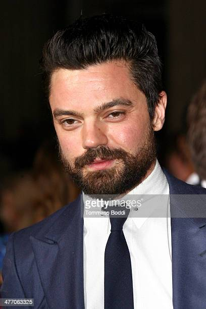 Actor Dominic Cooper attends the 'Need For Speed' Los Angeles premiere held at the TCL Chinese Theatre on March 6 2014 in Hollywood California