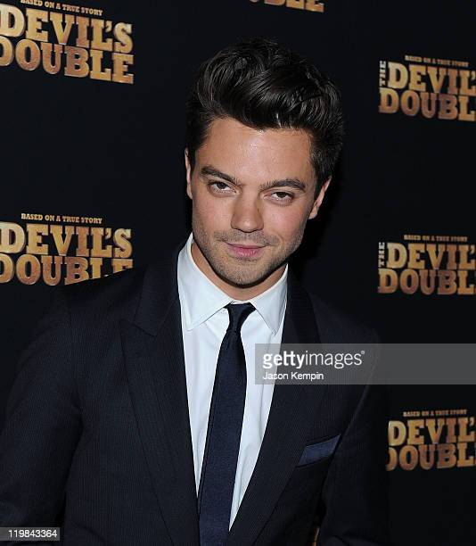 Actor Dominic Cooper attends the New York premiere of 'The Devil's Double' at SVA Theater on July 25 2011 in New York City