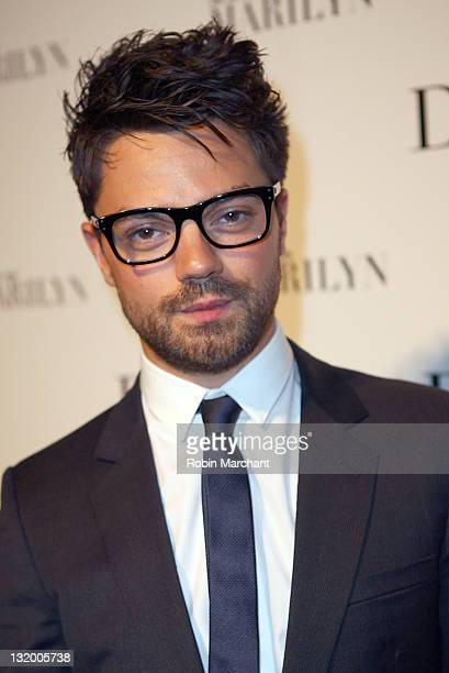 """Actor Dominic Cooper attends the """"Picturing Marilyn"""" Exhibition opening with a screening of """"My Week With Marilyn"""" at Milk Studios on November 9,..."""
