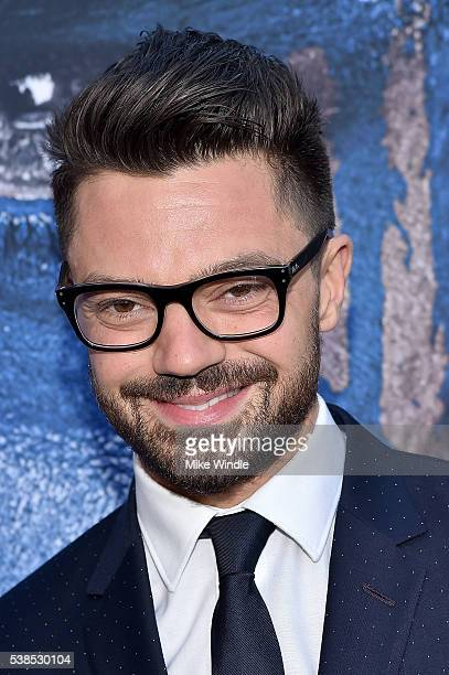 Actor Dominic Cooper attends the premiere of Universal Pictures' Warcraft at TCL Chinese Theatre IMAX on June 6 2016 in Hollywood California