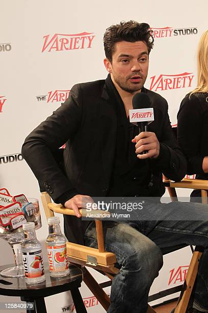 Actor Dominic Cooper attends the Variety Studio At Sundance on January 24 2011 in Park City Utah