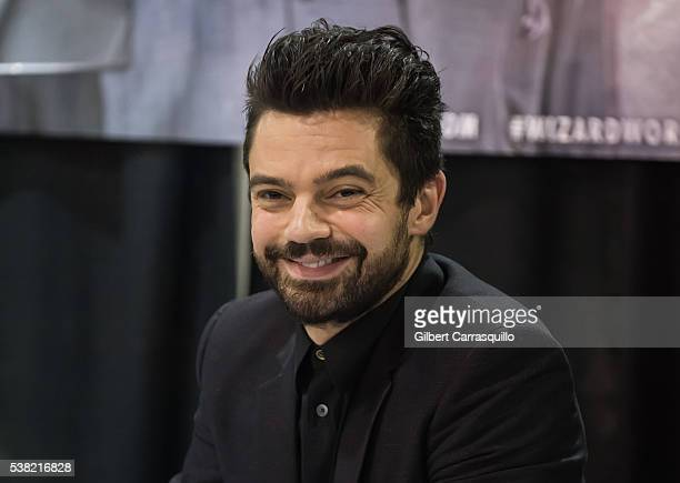 Actor Dominic Cooper attends Wizard World Comic Con Philadelphia 2016 Day 3 at Pennsylvania Convention Center on June 4 2016 in Philadelphia...