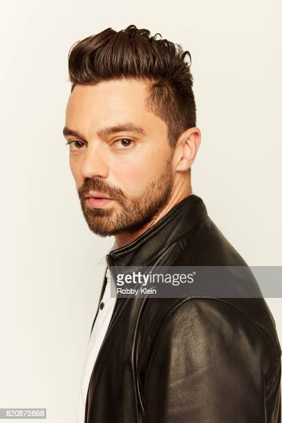 Actor Dominic Cooper from AMC's Preacher poses for a portrait during ComicCon 2017 at Hard Rock Hotel San Diego on July 20 2017 in San Diego...