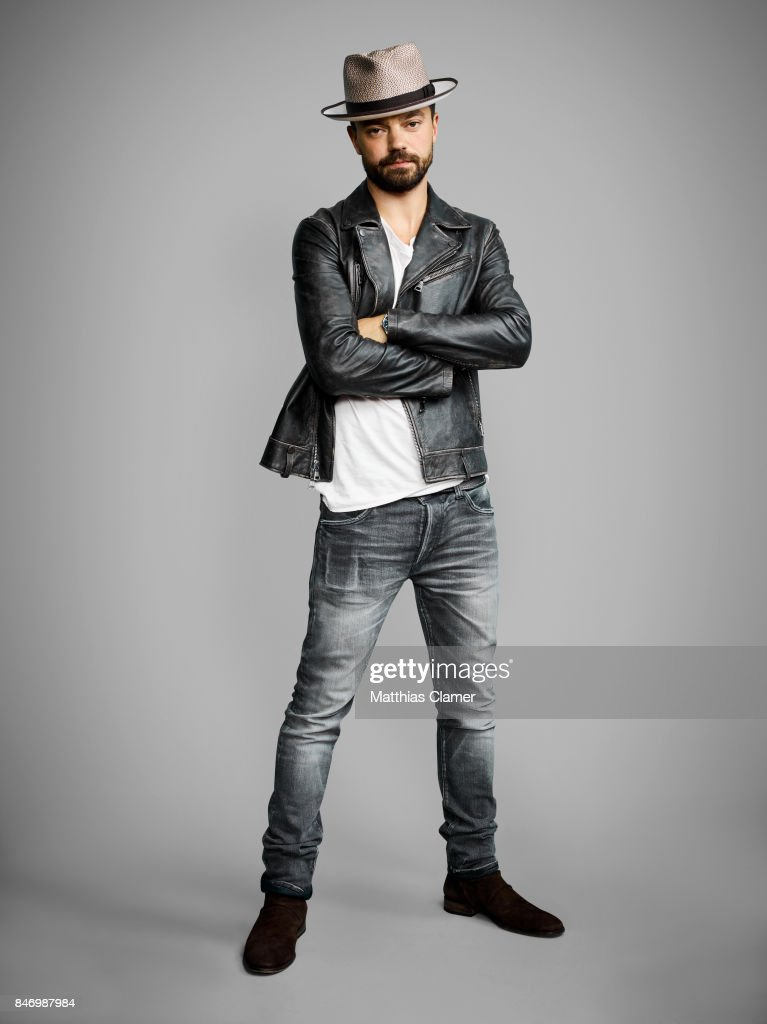 Actor Dominic Cooper from 'Preacher' is photographed for Entertainment Weekly Magazine on July 22, 2016 at Comic Con in the Hard Rock Hotel in San Diego, California.