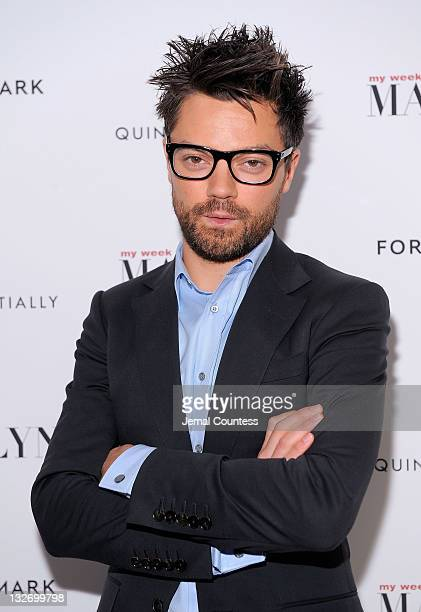 Actor Dominic Cooper poses for a photo at the My Week With Marilyn New York premiere at The Paris Theatre on November 13 2011 in New York City