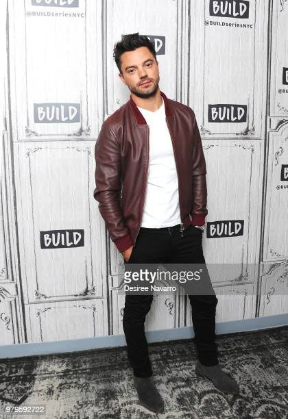 Actor Dominic Cooper visits Build series to discuss 'Preacher' at Build Studio on June 20 2018 in New York City