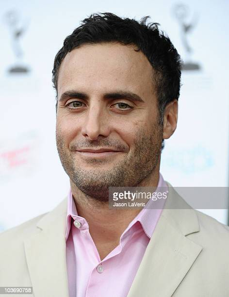 Actor Dominic Fumusa attends the 62nd primetime Emmy Awards performers nominee reception at Pacific Design Center on August 27 2010 in West Hollywood...