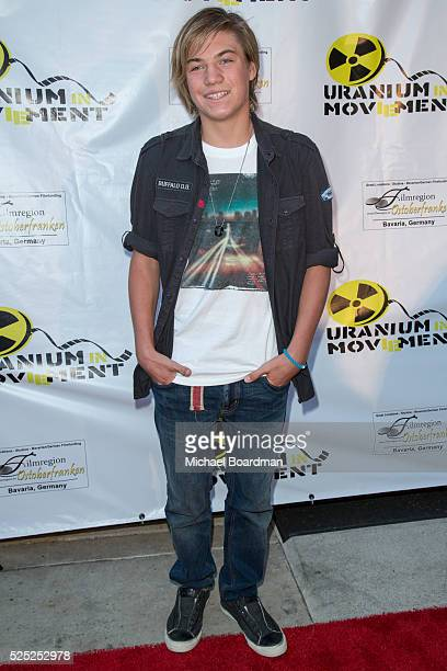 """Actor Dominic Kline attends """"The Man Who Saved The World"""" premiere during the Atomic Age Cinema Fest at Raleigh Studios on April 27, 2016 in Los..."""