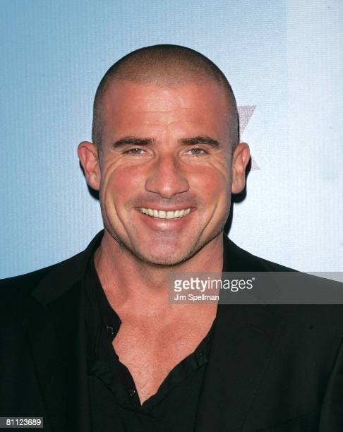 Actor Dominic Purcell arrives at the 2008 FOX UpFront at Wollman Rink in Central Park on May 15 2008 in New York City