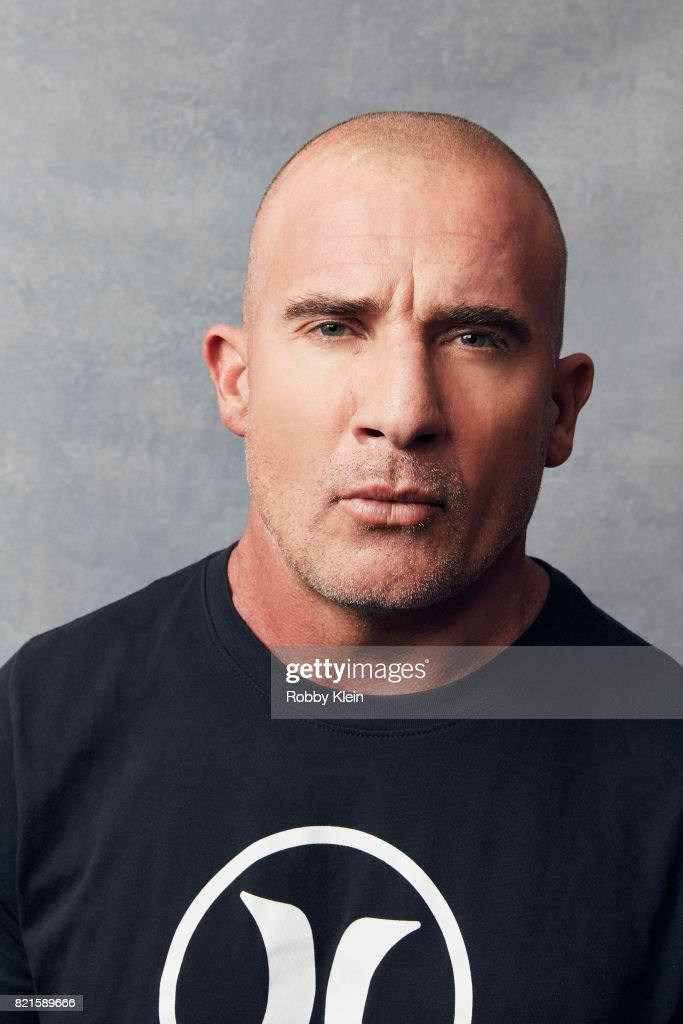 Actor Dominic Purcell from CW's 'Legends of Tomorrow' poses for a portrait during Comic-Con 2017 at Hard Rock Hotel San Diego on July 22, 2017 in San Diego, California