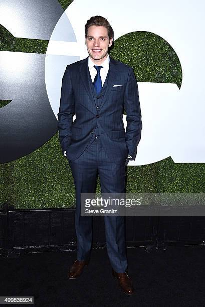 Actor Dominic Sherwood attends the GQ 20th Anniversary Men Of The Year Party at Chateau Marmont on December 3 2015 in Los Angeles California