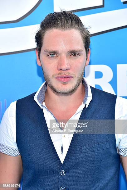 Actor Dominic Sherwood attends The World Premiere of DisneyPixar's FINDING DORY on Wednesday June 8 2016 in Hollywood California