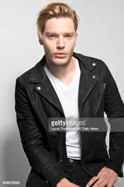 Actor Dominic Sherwood is photographed for NY Daily News on October 8 2016 at Comic Con in New York City CREDIT MUST READ Laura Thompson/New York...