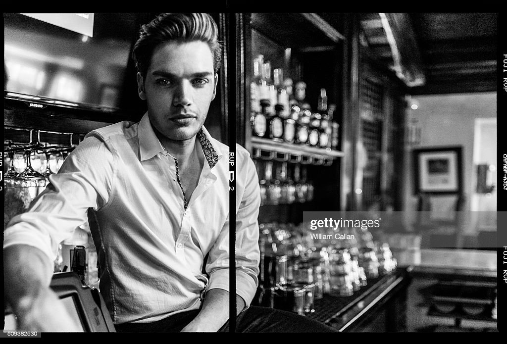 Dominic Sherwood, The Wrap, January 19, 2016 : News Photo