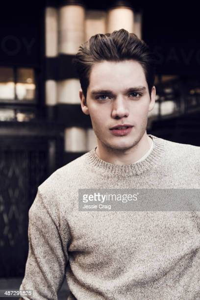 Actor Dominic Sherwood is photographed for Wonderland in London England