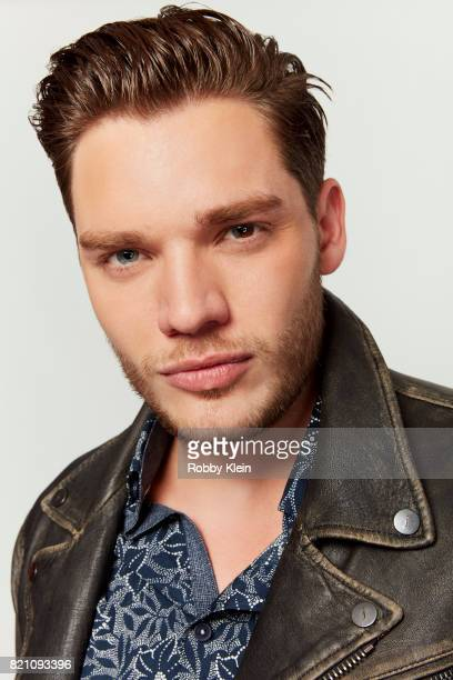 Actor Dominic Sherwood of Freeform's 'Shadowhunters' poses for a portrait during ComicCon 2017 at Hard Rock Hotel San Diego on July 20 2017 in San...