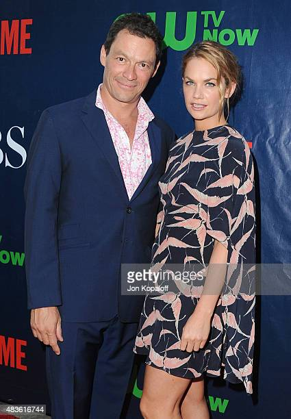 Actor Dominic West and actress Ruth Wilson arrive at CBS, CW And Showtime 2015 Summer TCA Party at Pacific Design Center on August 10, 2015 in West...