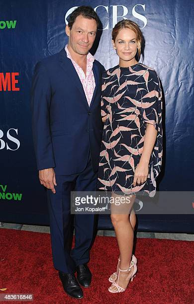Actor Dominic West and actress Ruth Wilson arrive at CBS CW And Showtime 2015 Summer TCA Party at Pacific Design Center on August 10 2015 in West...