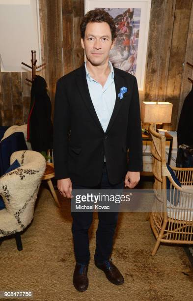 Actor Dominic West attends as Grey Goose Blue Door hosts the casts of gamechanging films during the Sundance Film Festival at The Grey Goose Blue...