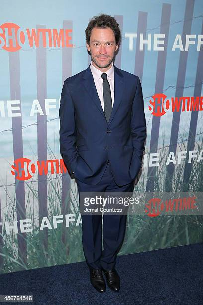 Actor Dominic West attends The Affair New York series premiere on October 6 2014 in New York City