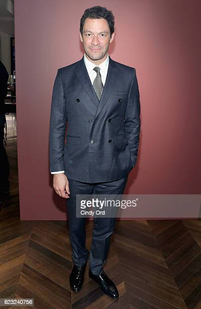 Actor Dominic West attends the celebration of 'The Tale of Thomas Burberry' with Sienna Miller and Dominic West at Burberry Soho on November 14 2016...