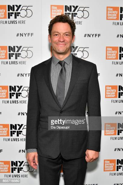 Actor Dominic West attends the premiere of 'The Square' during the 55th New York Film Festival at Alice Tully Hall Lincoln Center on September 29...
