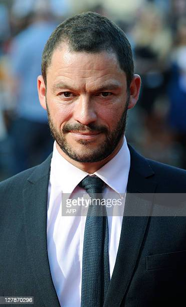 Actor Dominic West attends the UK premiere of Johnny English Reborn in London on October 2, 2011. AFP PHOTO / FACUNDO ARRIZABALAGA