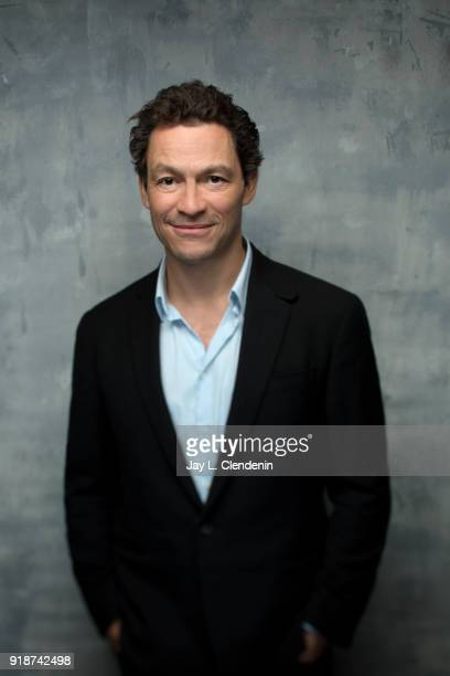 Actor Dominic West from the film 'Collette' is photographed for Los Angeles Times on January 21 2018 in the LA Times Studio at Chase Sapphire on Main...