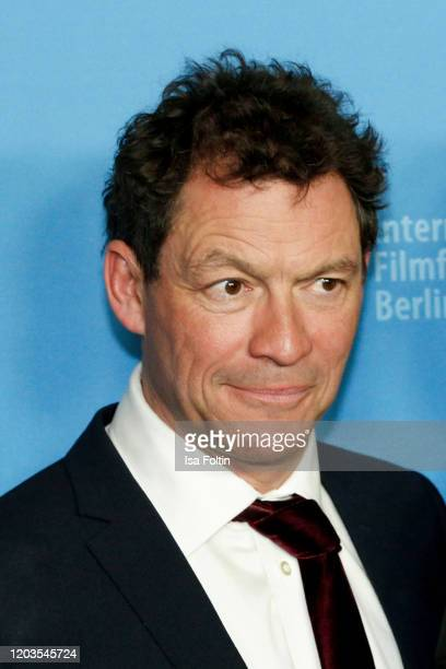 Actor Dominic West poses at the Stateless premiere during the 70th Berlinale International Film Festival Berlin at Zoo Palast on February 26 2020 in...
