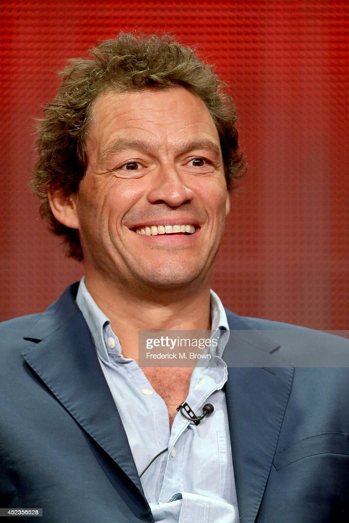 Actor Dominic West speaks onstage at the 'The Affair' panel during the SHOWTIME Network portion of the 2014 Summer Television Critics Association at The Beverly Hilton Hotel on July 18, 2014 in Beverly Hills, California.