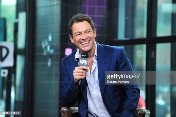 Actor Dominic West visits Build Series to discuss the film 'Colette' at Build Studio on September 13 2018 in New York City