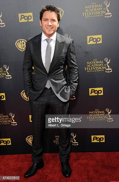 Actor Dominic Zamprogna arrives for The 42nd Annual Daytime Emmy Awards held at Warner Bros Studios on April 26 2015 in Burbank California