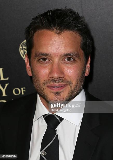 Actor Dominic Zamprogna attends the 41st Annual Daytime Emmy Awards at The Beverly Hilton Hotel on June 22 2014 in Beverly Hills California