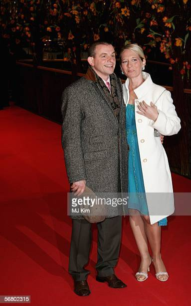 Actor Dominique Horwitz and his wife Anna Wittig attend the Opening Night of the 56th Berlin International Film Festival on February 9 2006 in Berlin...