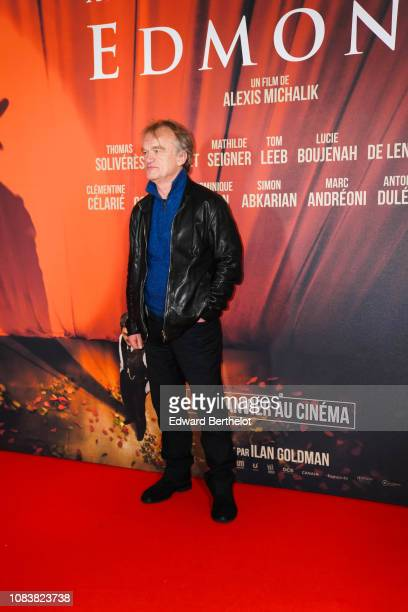 Actor Dominique Pinon during the 'Edmond' Paris Premiere photocall at Cinema Pathe Beaugrenelle on December 17 2018 in Paris France
