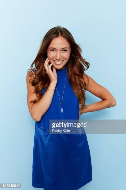 Actor Dominique ProvostChalkley from Syfy's 'Wynonna Earp' poses for a portrait during ComicCon 2017 at Hard Rock Hotel San Diego on July 20 2017 in...