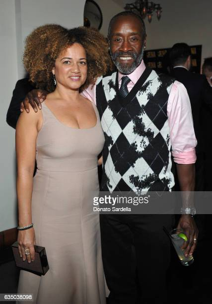 Actor Don Cheadle and Bridgid Coulter attend GQ and Chance The Rapper Celebrate the Grammys in Partnership with YouTube at Chateau Marmont on...