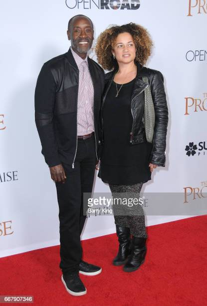 Actor Don Cheadle and Bridgid Coulter attend premiere of Open Roads Films' 'The Promise' at TCL Chinese Theatre on April 12 2017 in Hollywood...