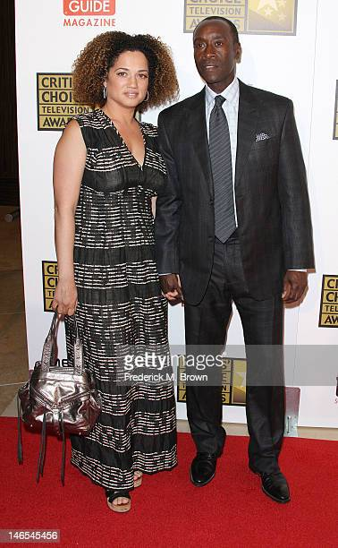 Actor Don Cheadle and his wife Bridgid Coulter attend the Broadcast Television Journalists Association Second Annual Critics' Choice Awards at The...