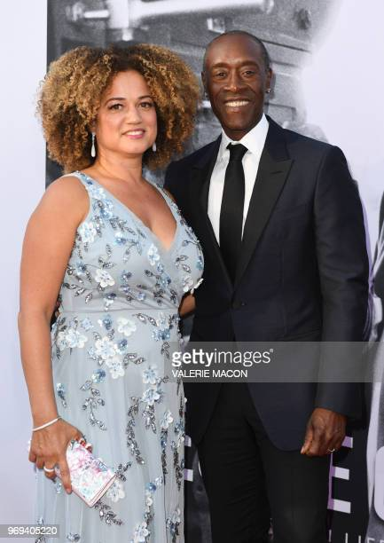 US actor Don Cheadle and his wife US actress Bridgid Coulter attend the 46th American Film Institute Life Achievement Award Gala at the Dolby Theatre...