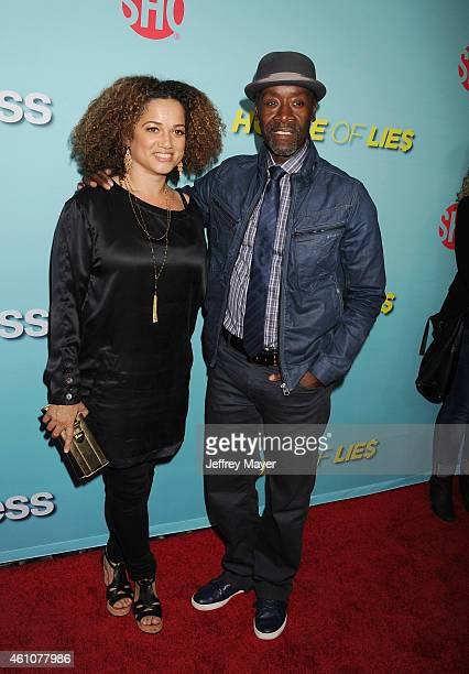 Actor Don Cheadle and wife Bridgid Coulter attend the Showtime celebration of the allnew seasons of 'Shameless' 'House Of Lies' And 'Episodes' at...