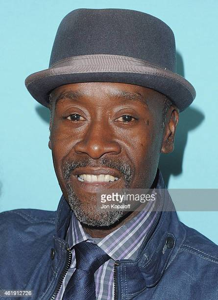 Actor Don Cheadle arrives at Showtime Celebrates AllNew Seasons Of 'Shameless' 'House Of Lies' And 'Episodes' at Cecconi's Restaurant on January 5...