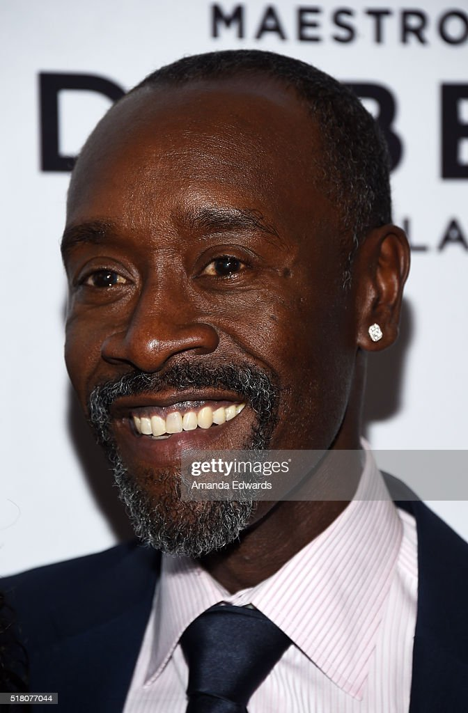 Actor Don Cheadle arrives at the premiere of Sony Pictures Classics' 'Miles Ahead' at the Writers Guild Theater on March 29, 2016 in Beverly Hills, California.